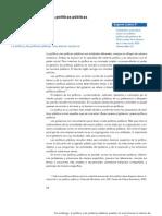 Economía política de las políticas públicas - Eugenio Lahera