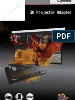 Optoma 3D-XL Converter Users Guide