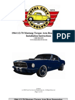 1965 Mustang Torque Arm Rev01