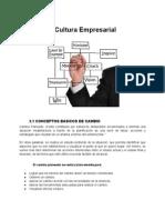 Cultura Empresarial - Conceptos Basicos de Cambio