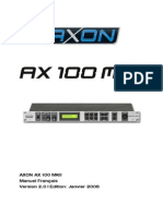 Axon Ax 100 Mkii Manual Fr 2.0
