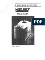 Manual WelbiltABM2900