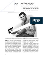 Vintage Telescope Plans