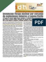 Alerta por mina al lado de Central Nuclear en Veracruz.