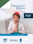Deposit Assessment in Nepal