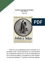 Lennon, John & Ono, Yoko - Los Grandes Reportajes de Playboy Entrevistas