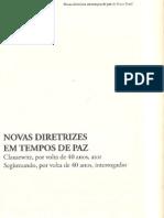 Novas Diretrizes.em Tempos de Paz.. Bosco Brasil