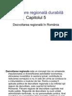 Cursul 7 Dezvoltare Regionala Cap5