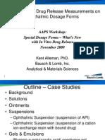 Alleman - Drug Release Measurements