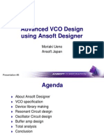 Advanced VCO Design Using Ansoft Designer