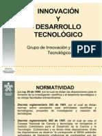 PRESENTACIÓN GRUPO DE INOVACIÓN y DESAROLLO TECNOLÓGICO