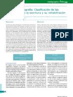 Estudio de la agrafia Clasificación de las alteraciones de la escritura y su rehabilitación