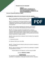 Projeto de Lei Nº 2023/2009 -