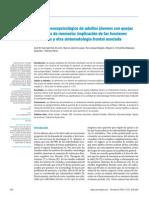 Estudio neuropsicológico de adultos jóvenes con quejas subjetivas de memoria implicación de las funciones ejecutivas
