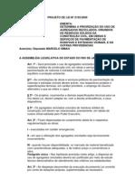 Projeto de Lei Nº 2193/2009 - Prioriza o uso de agregados reciclável, oriundos de resíduo sólido da construção civil