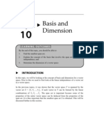 Basis and Dimension