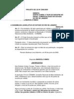 Projeto de Lei Nº 2360/2009 - Dispõe sobre o teor de enxofre no diesel