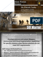 SOF Warrior - Weapons Brief SOFIC 2011