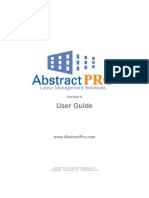 Abstract Pro v 6 User Guide