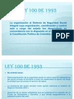 LEY 100  diapositivas