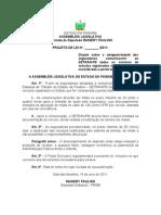 Projeto de Lei N°40.2011 -Dispõe sobre a obrigatoriedade das seguradoras comunicarem ao DETRAN.PB todos os sinistros de veículos registrados no Estado que for considerada a perda total.