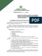 Projeto de Lei N° 39.2011- Dispõe sobre a inclusão de medidas de conscientização, prevenção e combate ao Bullying no projeto pedagógico elaborado pelas Escolas Públicas do Estado da Paraíba, e dá outras providências.