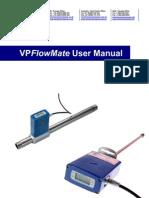 Flowmeter Manual