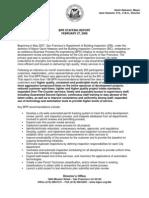 Final BPR Staff Report