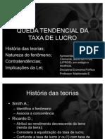 Teorias de Crises Econômicas. Leonel T Clemente.