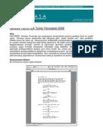 Script Writing Guidelines 2009 Turkish Version