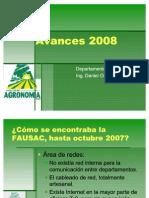 Avances 2008