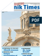 The Sibenik Times, September 13th