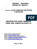 Instructivo Para Examen Final Alyc2011-2
