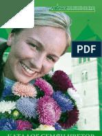 Blumensamenkatalog der Firma satimex