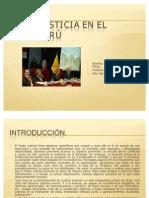 Justicia en el Perú