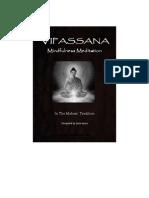 Vipassana Mindfulness Meditation