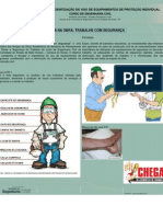 Planejamento e Segurança no Trabalho - Campanha do uso de EPI