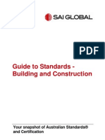Guide to Standards-Building and Construction