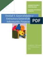 General Ida Des y Estructura General de La in Financier A