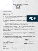 1711 Florida Ave 2011 PUD Application - Notice of Filing to Council Member Graham (Tab 6)