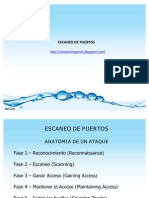 Escaneo de Puertos