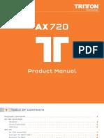 AX720 User Manual