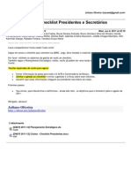 04-[Rotaract D.4670] Checklist Presidentes e Secretários