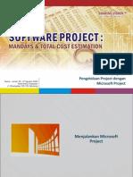 Pengelolaan Proyek Dengan MS Project