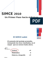 resultados simce 2010 nacional