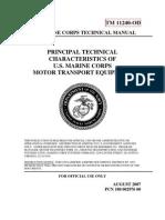 U.S. Marine Corps Motor Transport Equipment