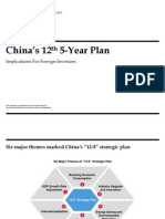 China's 12th 5-Year Plan (Booz & Company)