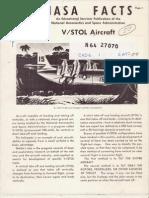 NASA Facts VSTOL Aircraft 1964