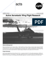 NASA Facts Active Aeroelastic Wing Flight Research