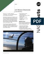 NASA Facts Aeronautics Research Mission Directorate